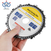 Grinder Disc And Chain Carbide Steel Circular Saw Blade for Rubber Cutting