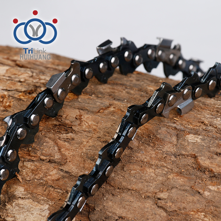 Powerful steel wood cutting machine .063 semi chisel tree cutter chain