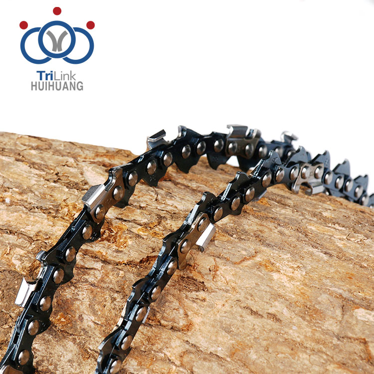 High quality semi-chisel low kickback safety saw chain in chainsaw